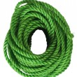 Close-up of a bundle of plastic rope — Stock Photo