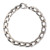 Close-up of a bracelet made from metal — Stock Photo