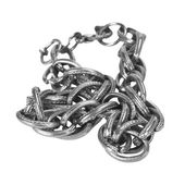 Close-up of a chain bracelet — Foto Stock