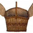 Close-up of a wooden basket — Stock Photo