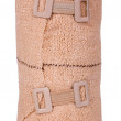 Stock Photo: Close-up of rolled-up bandage