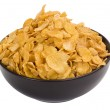 Close-up of a bowl of corn flakes — Stock Photo #32987657