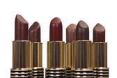 Close-up of assorted lipsticks — Stock Photo