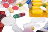 Bliska leków w blistrach — Zdjęcie stockowe