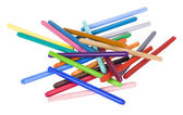 Close-up of felt tip pens — Stock Photo