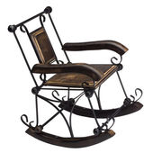Close-up of a rocking chair — Stock Photo