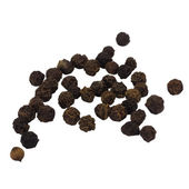 Close-up of black peppercorns — Stock Photo