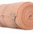Close-up of a rolled-up bandage — Stock Photo