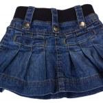 Close-up of a mini skirt — Stock Photo
