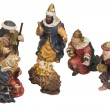 Stock Photo: Nativity figurines