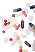 Close-up of assorted pills — Stock Photo