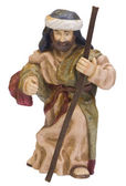 Close-up of a figurine of Saint Joseph — Stock Photo