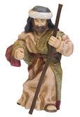 Close-up of a figurine of Saint Joseph — Foto de Stock