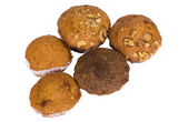 Close-up of assorted muffins — Stock Photo