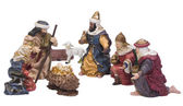 Nativity figurines — Stock Photo