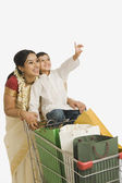 Woman with her son — Stock Photo
