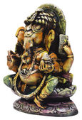 Close-up of a figurine of Lord Ganesha — Zdjęcie stockowe