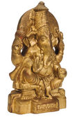 Close-up of a figurine of Lord Ganesha — Foto Stock