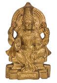 Close-up of a figurine of Goddess Lakshmi — Стоковое фото