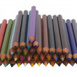 Close-up of colored pencils — Stock Photo