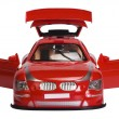 Close-up of a remote controlled toy car — Stock Photo #33002737