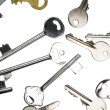 Assorted keys — Stock Photo