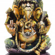 Close-up of figurine of Lord Ganesha — Stock Photo #33007375