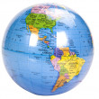 Close-up of a globe — Stock Photo