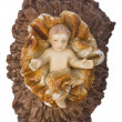 Figurine of baby Jesus — Stock Photo