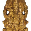 Close-up of figurine of Lord Ganesha — Stock Photo #33008065