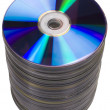 Stack of compact discs — Stock Photo #33008795