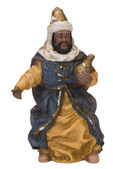 Close-up of a figurine of a king — Stock Photo