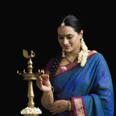 Mujer india — Foto de Stock