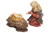 Meryem ana ile heykelcik bebek i̇sa — Stok fotoğraf