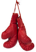 Close-up of a pair of boxing gloves — Стоковое фото