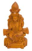 Close-up of a figurine of Goddess Saraswati — Stockfoto