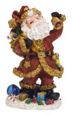 Close-up of a figurine of Santa Claus — Stock Photo