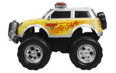Close-up of a toy monster truck — Stock Photo
