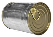 Close-up of a metal container — Stock Photo