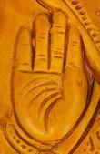 Ayrıntılı bir heykel el — Stok fotoğraf