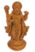 Close-up of a figurine of Lord Vishnu — Foto de Stock