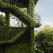 Topiary sculpture in a park — Stock Photo