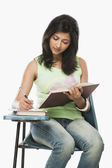 Student taking notes — Stock Photo