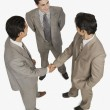 Businessmen shaking hands — Stock Photo #33034423