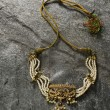 Stock Photo: Gold necklace
