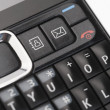 Keypad of a mobile phone — Stock Photo
