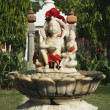 Statues in the garden of  Lakshmi Narayan Temple — Stock Photo