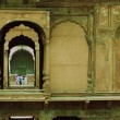 Tourists in a fort, Red Fort — Foto Stock