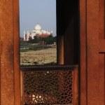 Agra Fort, Taj Mahal — Stock Photo #33065235