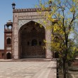 Tomb Of Akbar The Great, Sikandra — Stock Photo